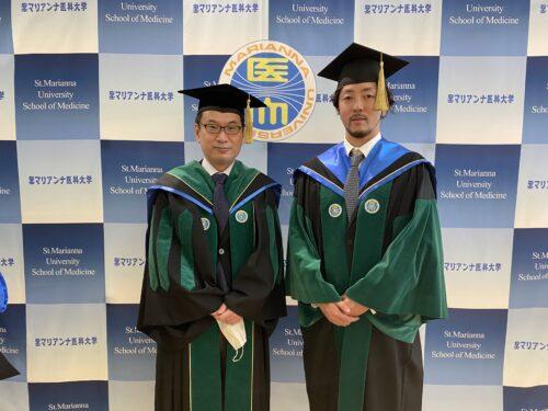 曽根教授と山本先生